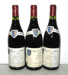 1986 Hospices de Beaune – Beaune Cuvée Guigone de Salins Mise SBE – Lot of 4 bottles