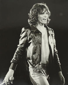 Michael Brennan/Scope Features/Farabola - Mick Jagger, 1970s