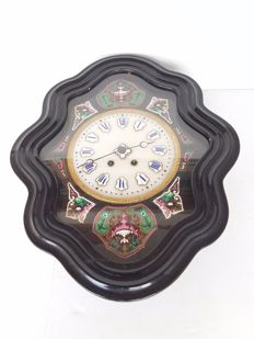 French wall clock - Oeuil de boeuf or ox eye - 1st half 20th century.