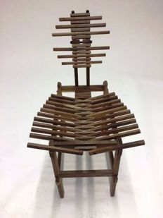 Anacleto Spazzapan -  Teak Wood Chair