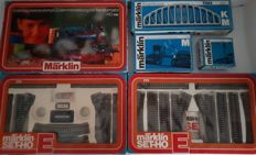 Märklin H0 - 0975/5190/-91 - Starter set with 2x expansion M-rail E