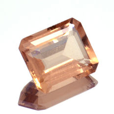 Peach Morganite - 3.64 ct