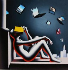 Mark Kostabi - Progress and the skeptic