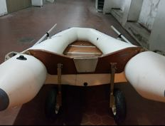 Inflatable Arkos 370 with mercury motor 8Cv 4T - 2011
