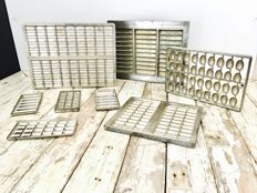 Original Droste and Tjoklat chocolate moulds - 1960s