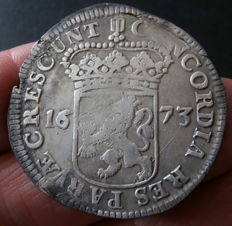 Holland – Silver ducat 1673
