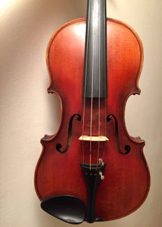 Old German violin by Aug. Clemens Glier