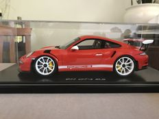 Spark - Scale 1/18 Porsche GT3 RS IAA - Orange