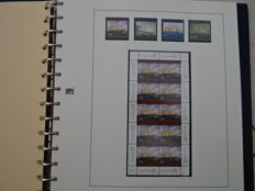 Australia 1997/1999 - Very large collection in Kabe self-made sheets in ringbinder