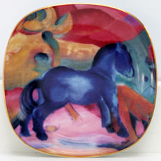 Rosenthal - Franz Marc - Die Tiere des Franz Marc - four limited and numbered porcelain plates