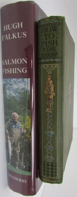 Lot of 2 books about Fishing - 1919/1984