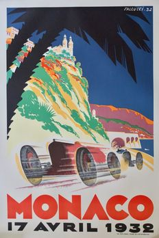 Falcucci - Grand Prix Automobile de Monaco (1932) - 1983