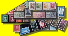Spain 1950s - Selection better sets on Stockcards