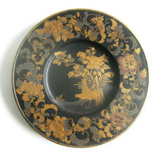 Very rare export lacquer plate - Japan - ca. 1700.