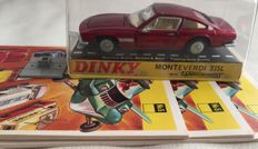 Dinky Toys - Scale 1/43 - Monteverdi 375L No.190, 3 Catalogi from 1968 and Lantarenvoet