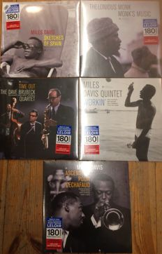 Five legendary jazz albums || Dave Brubeck, Miles Davis, Thelonious Monk || Limited editions || 180gram
