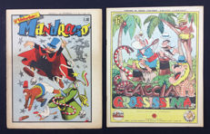 "Jacovitti - Albi de Il Giraffone, issue no. 6 ""Caccia grossissima"" + supplement no. 27 ""Mandrago"""