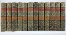 William Shakespeare & Prof. Sir Israel Golliancz (ed.) - The Works of Shakespeare - 12 volumes - 1899/1900