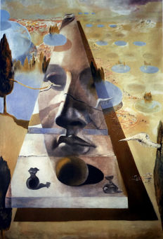 Salvador Dalí (after) - Visage