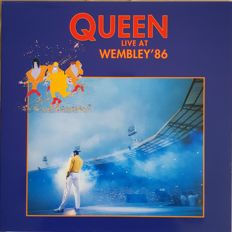 Alot 2 DBL  lPs  Queen  live at wembley  86 red vinyl