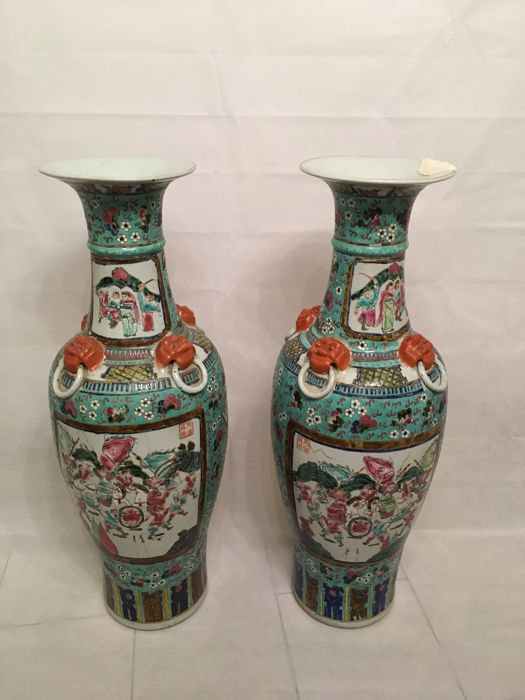 Two Chinese Vases China Second Half Of The 20th Century Catawiki
