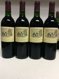 1985 Chateau Cantemerle, Grand Cru Classe, Haut-Medoc, France - 4 bottles 0,75l