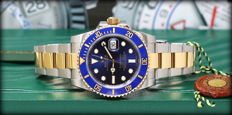 Rolex - Submariner Date 116613 LB-Full set- L New - Heren - 2011-heden