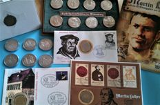 GDR of East Germany/Federal German Republic - 18 coins/medals