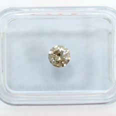 Diamond – 0.34 ct, VS2 – Natural Fancy Brown