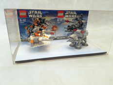 Shop display - 75074 + 75075 - Snowspeeder + At-At