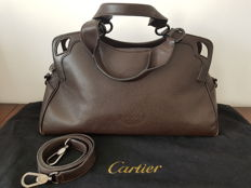 Cartier – Marcello handbag with shoulder strap.