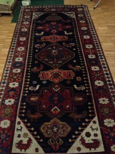 KARABAGH rug, Caucasian, dating back to the 1940s/50s, dimensions: 321 x 146 cm
