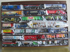 Various brands - Scale 1/87 - Lot with 73 truck models