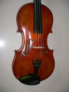 Very nice old Italian labeled VIOLIN(4/4), Tomacarca, a good bridge from Kurt Glasel