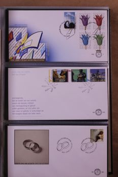 The Netherlands 1998/2012 - Collection of FDCs in 3 Davo LX albums