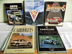 Lot of 5 automobile books - For the collector
