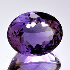 Amethyst - 16.43 ct. - No Reserve Price