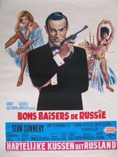 James Bond From Russia With Love (Sean Connery) - 1963