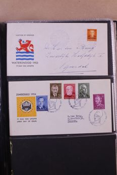 The Netherlands 1872/1995 - batch in 6 albums and 2 stock books