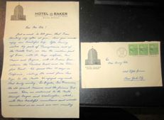 Letters; Lot of 5 handwritten letters of the Austrian Royal Family in exile - 1940/1968