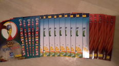 Panini - World Cup 2002 Korea/Japan + 2010 South Africa + 2014 Brasil - 20 empty albums.