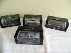 Minichamps - Scale 1/43 - Lot with 4 models Bentley
