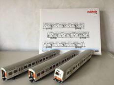 Märklin H0 - 4389 - Carriage set S-Bahn consisting of 3 carriages