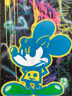 Jeannette Amsterdam - Mickey - yellow & blue