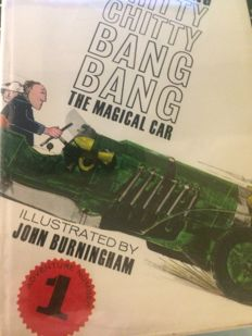 Ian Fleming - Chitty Chitty Bang Bang. The Magical Car - 3 volumes - 1964