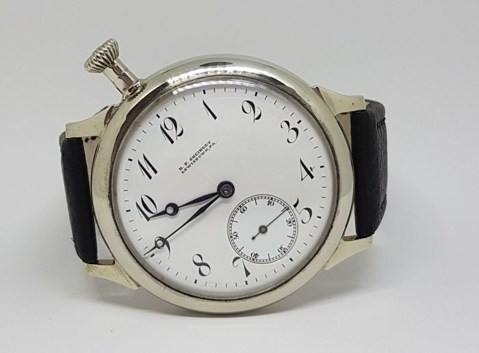 Agassiz men's marriage watch - circa 1918