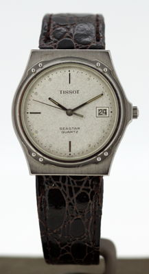 Tissot Seastar - Vintage mens quartz wristwatch, circa.1980's