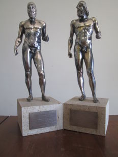 Riace Warriors Statues - Morpier Silverware - Florence - late 1970s