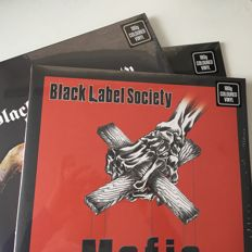 Black Label Society, collection of 3 mint/sealed coloured vinyl LPs