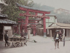 Unknown (XIX) - Japanese scenes, Kobe 1890s